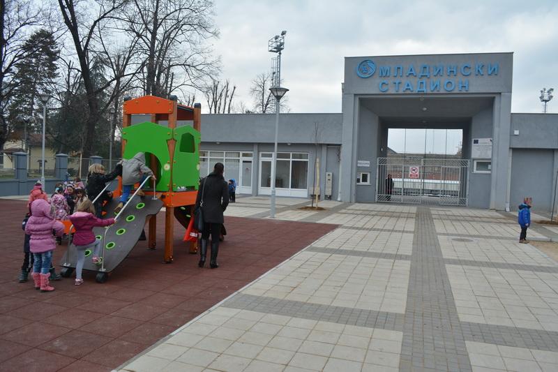 Photo of Omladinski stadion od rugla postao sportski centar u malom