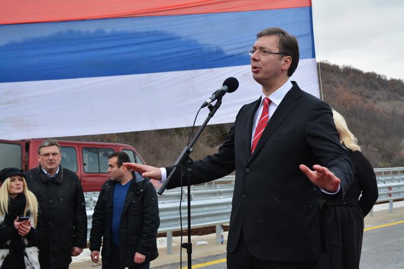 Photo of Aleksandar Vučić u četvrtak u Pirotu