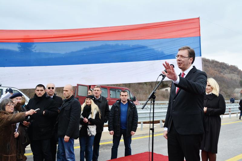 Photo of Premijer Vučić otvorio dve deonice Istočnog kraka Koridora 10 dužine 23.3 kilometara