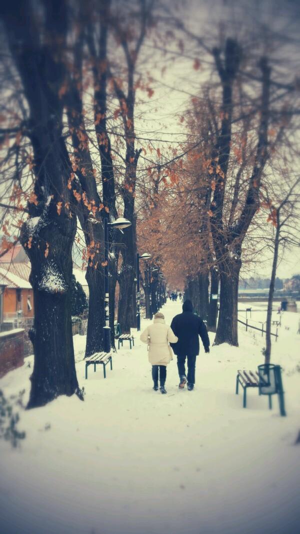 Photo of Zimska idila na Keju pored Nišave