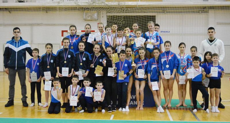 Photo of Nađa Panić i Nikola Lazarević najbolji gimnastičari Pirota