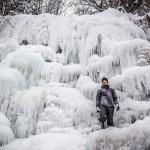 Zaleđeni i vodopadi na Staroj planini