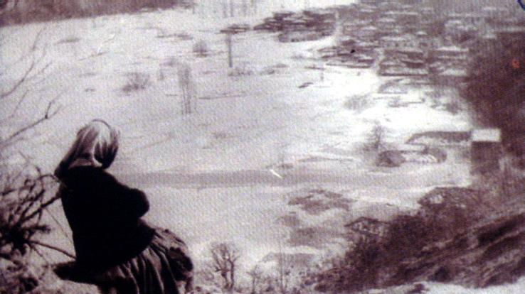pirot, poplava zavoja  pre pola veka