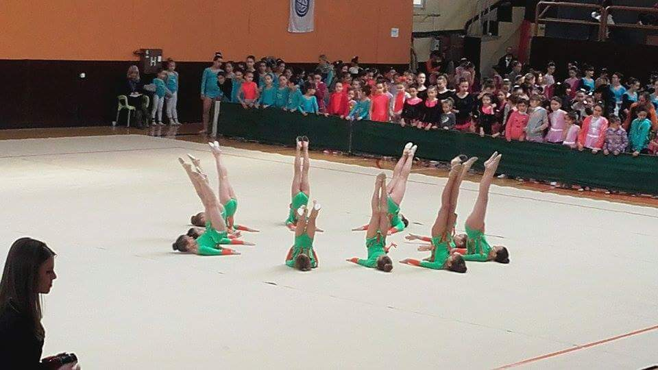 Photo of Srebrna medalja za ritmičke gimnastičarke