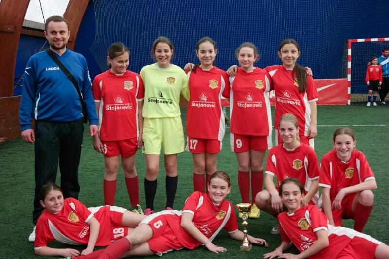 Photo of Pirotske fudbalerke druge na turniru u Kruševcu