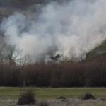 Vatrogasci:Ugašen požar iznad Toplog Dola