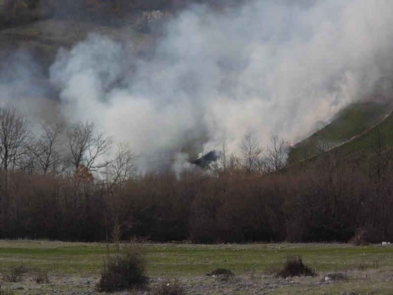 Photo of Vatrogasci:Ugašen požar iznad Toplog Dola