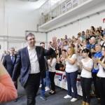 U Pirotu po preliminarnim rezultatima izlaznost 54.82 posto, za Vučića glasalo 65.23 posto
