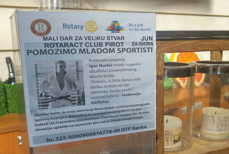 Photo of I Pirot pomaže Igoru Nurkiću