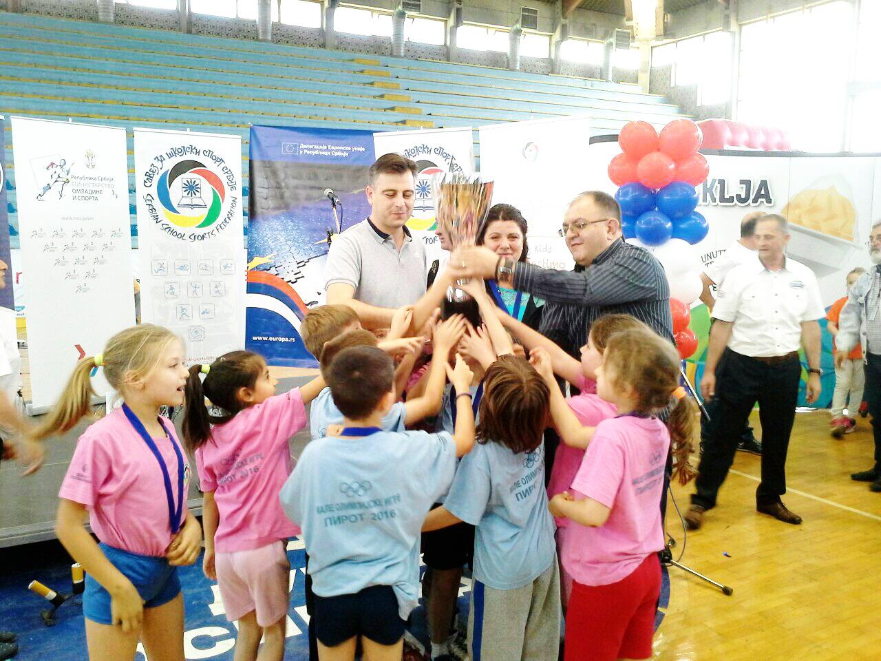 Photo of Pirot danas i zvanično postao olimpijski grad