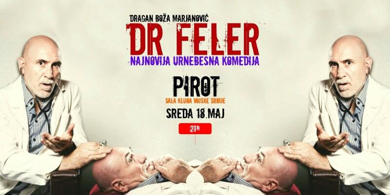 "Photo of ,, Dr Feler "" Dragana Bože Marjanovića u Pirotu"