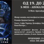 X-Men Apokalipsa 3D u bioskopu DK