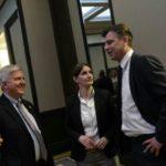 Vasić na radnom ručku sa ambasadorom Skatom