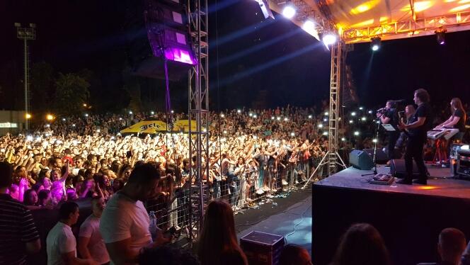 Photo of Prepun omladinski stadion na koncertu Ace Lukasa