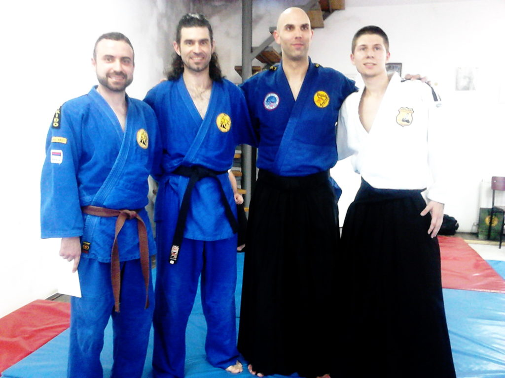 Piroćanci na seminaru realnog aikidoa u Leskovcu