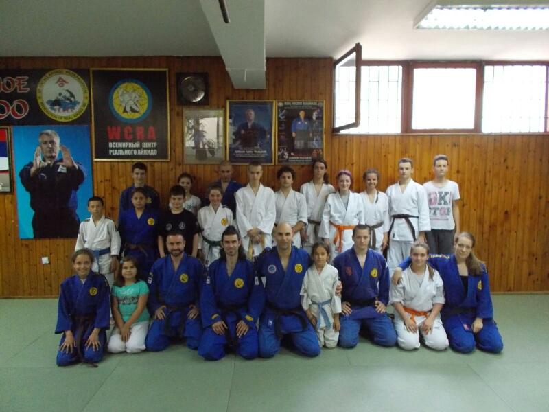 """Photo of Članovi """"Crne kobre"""" posetili Svetski centar realnog aikidoa"""
