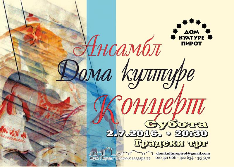 Photo of Amateri svome gradu daruju koncerte
