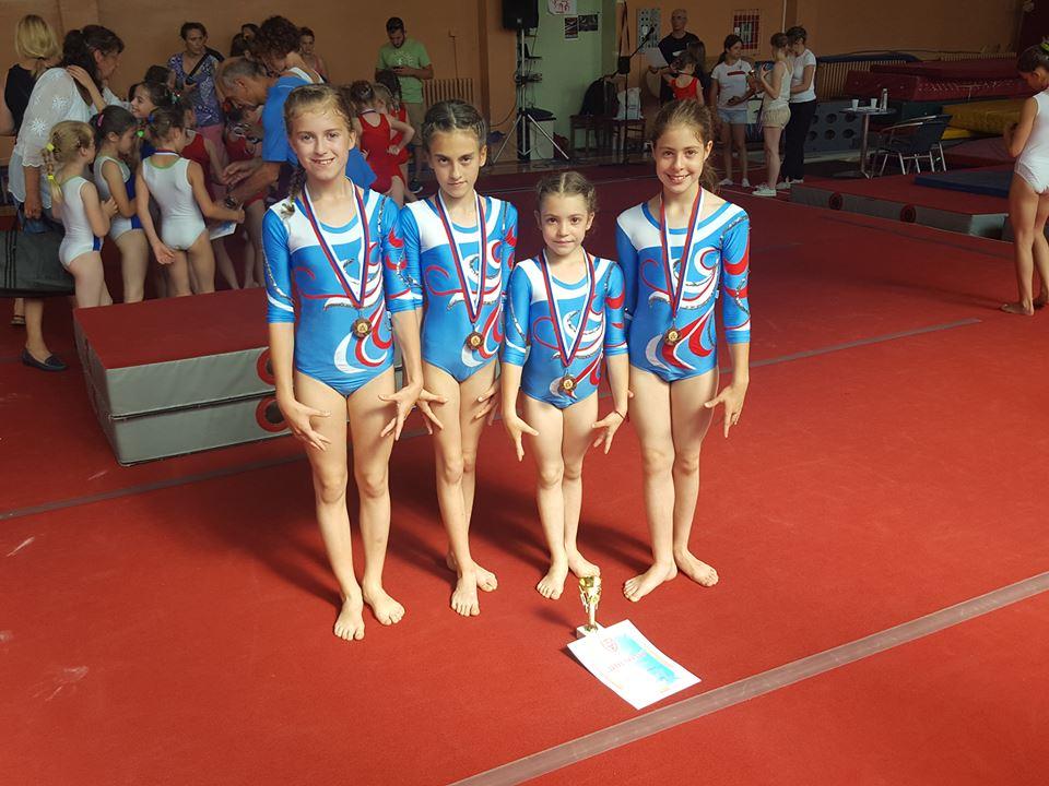 """Photo of Gimanstičkom klubu """"Soko 2011"""" treće mesto na Vidovdanskom turniru"""