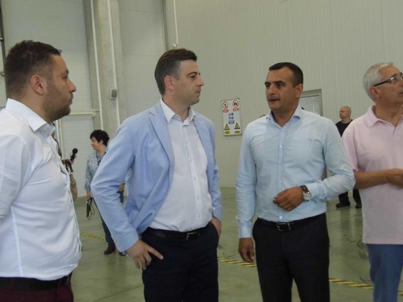 Photo of Gradonačelnik Vasić u Slobodnoj zoni: Grad pomaže privredu