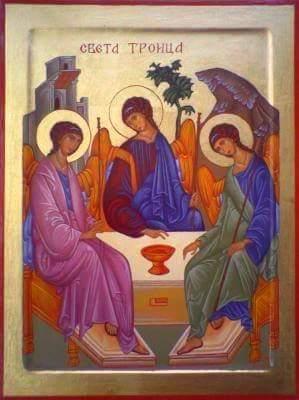 Photo of Силазак Светог Духа на Апостоле – Духови – Тројицe