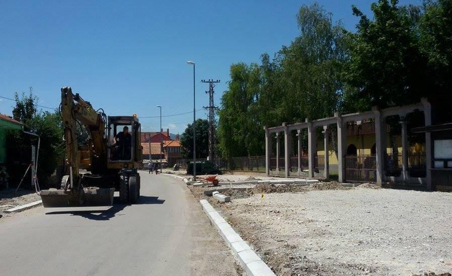 Photo of Nastavljaju se radovi na uređenju ulice Hajduk Veljka