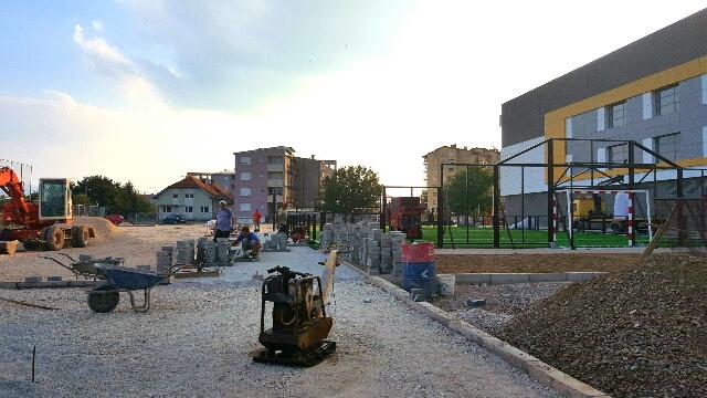 Photo of Uređenje parking prostora i pič terena iza Zatvorenog bazena