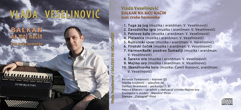 Autorski CD Balkan na moj nacin (2)
