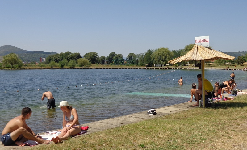 "Photo of Dozvoljeno kupanje na ""pirotskom moru"" *FOTO*"