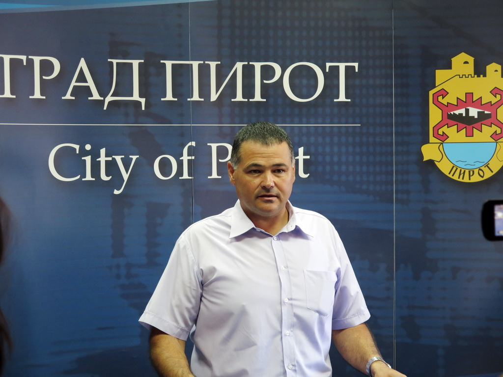 Photo of Dragan Stanković načelnik Gradske uprave Pirot