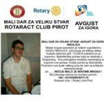 Humanitarna akcija prikupljanja novčane pomoći za Igora Nikolića