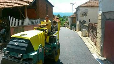 Photo of Asfaltiranje sokaka u selu Krupac i uređenje puteva ka selima