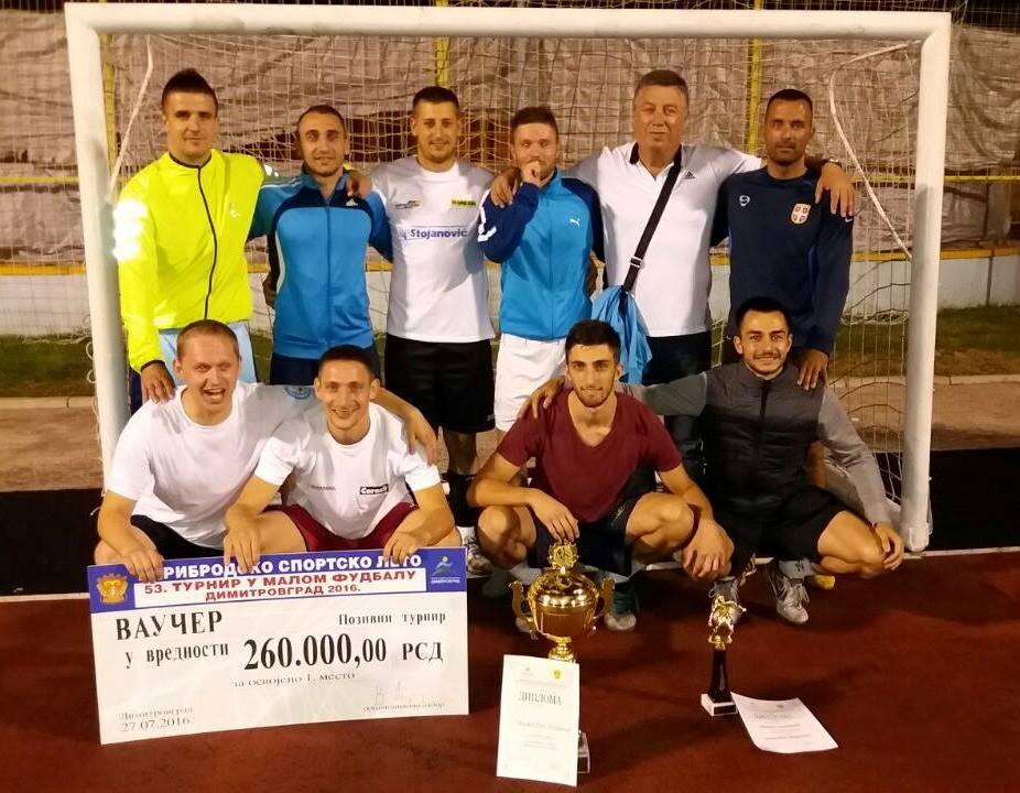 "Photo of Piroćanci prvaci turnira u malom fudbalu ""Dimitrovgrad 2016"""