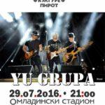 """""""YU grupa"""" – legende rok muzike nastupaju u Pirotu"""