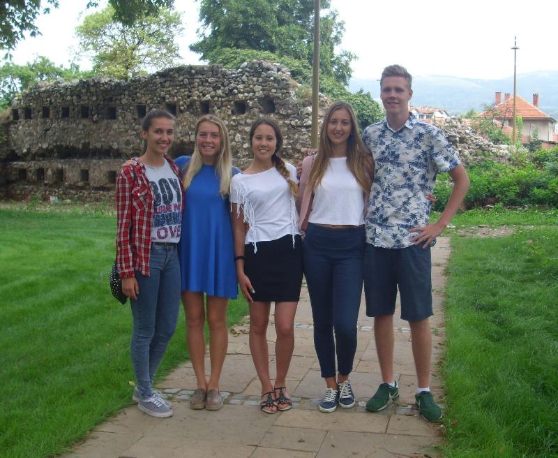 Photo of Učenici iz Rusije u poseti drugarima iz Pirota