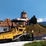 Asfaltira se prilaz do manastira Svetog Jovana kod Krupca