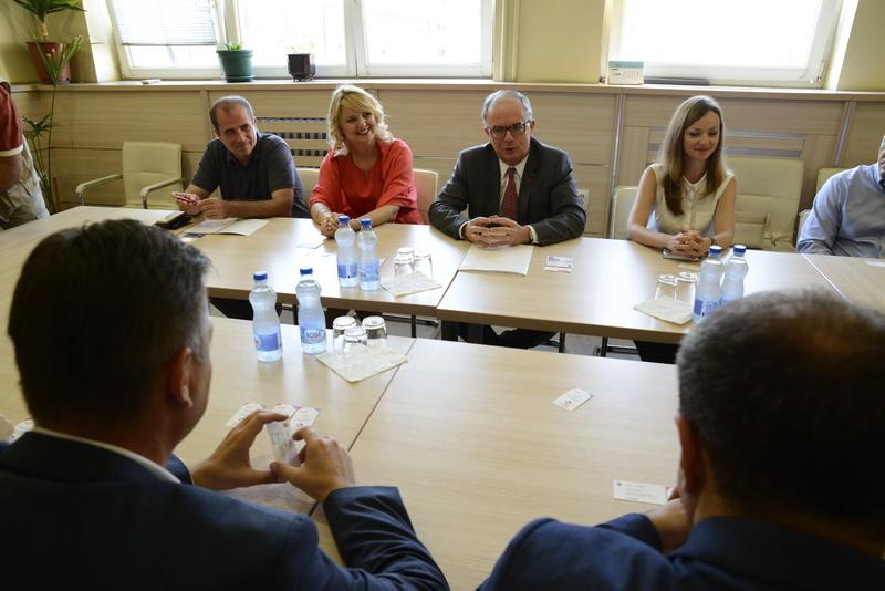 Photo of Ambasador Kanade razgovarao sa Vasićem o mogućoj saradnji