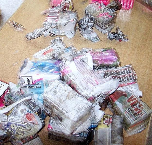 paketici krijumcarenih cigareta