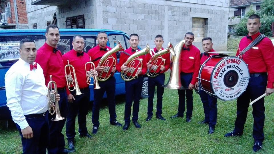 Photo of Pirotskim trubačima još jedna nagrada u Guči
