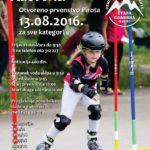 "Otvoreno prvenstvo Pirota ""Inline alpin slalom roler kup"""