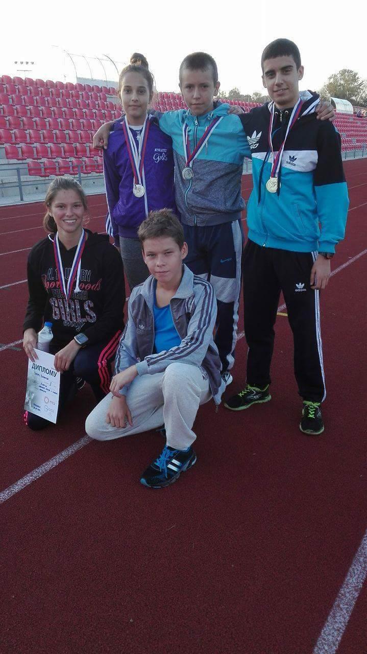 Photo of Četiri medalje za pirotske atletičare