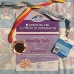 Momčilu Tošiću bronza na informatičkoj olimpijadi