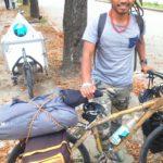 Na bicikli od bambusa krenuo na put oko sveta