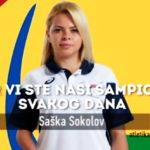Saška Sokolov, pirotska paraolimpijka, deveta na Svetskom prvenstvu u atletici u Dubaiju