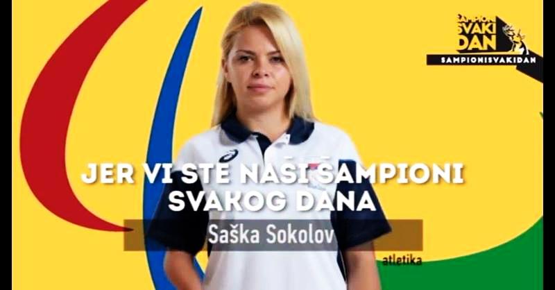 Photo of Saška Sokolov, pirotska paraolimpijka, deveta na Svetskom prvenstvu u atletici u Dubaiju