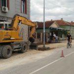 Počelo uređenje ulice Kapetana Karanovića