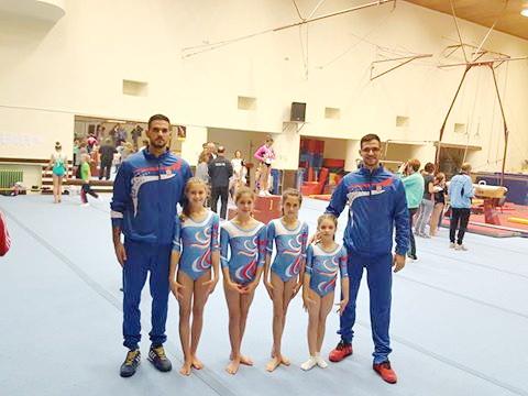Photo of Odličan plasman gimnastičarki u Novom Sadu