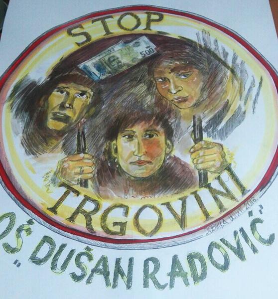 Photo of Učenici protiv trgovine ljudima
