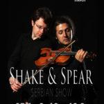 Duo Shake&Spear u Domu kulture na početku nove koncertne sezone