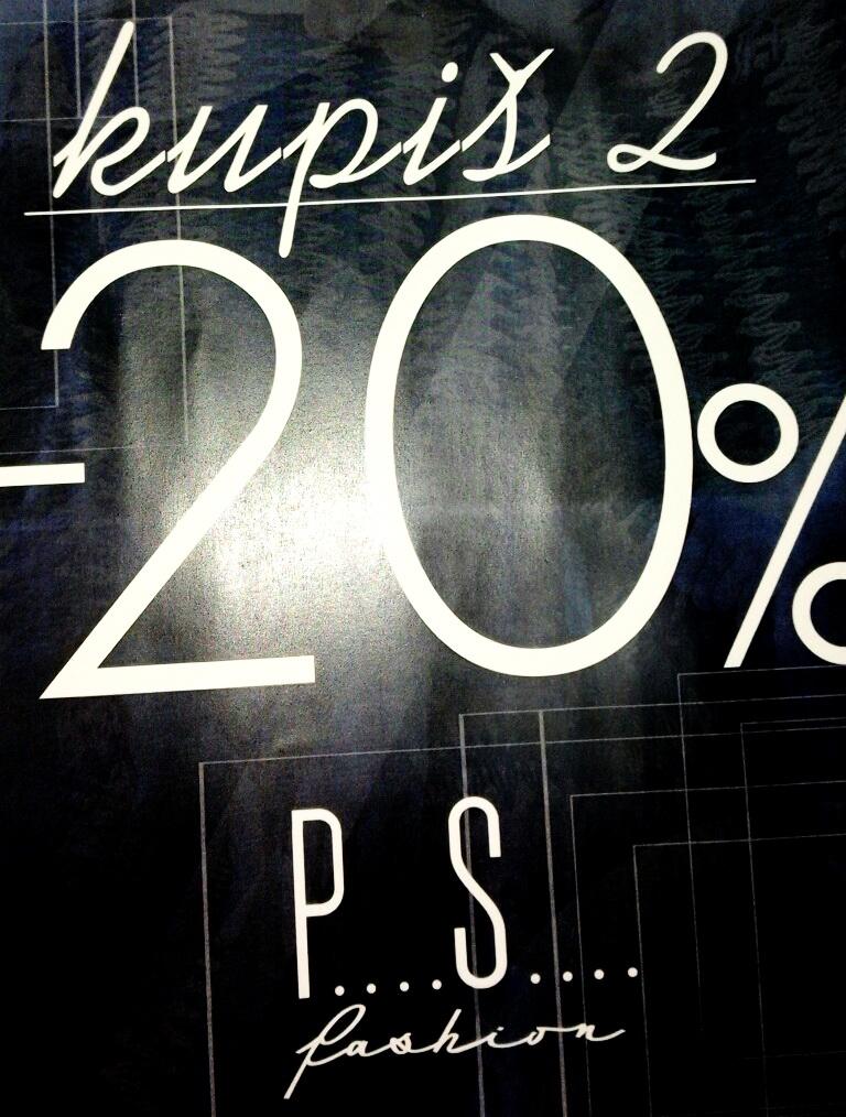 Photo of Velika akcija u PS Fashion radnji u Pirotu: 20 posto popusta za dva i više kupljena artikla