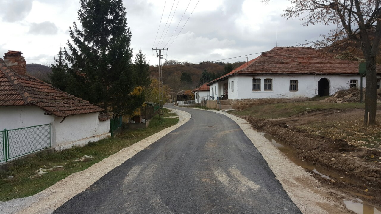 Photo of Asfaltiran put u selu Srećkovac